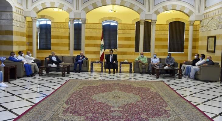 ممثلو مستشفى بيروت الحكومي أكدوا لدياب ضرورة حل أزمة جداول سلسلة الرتب والرواتب