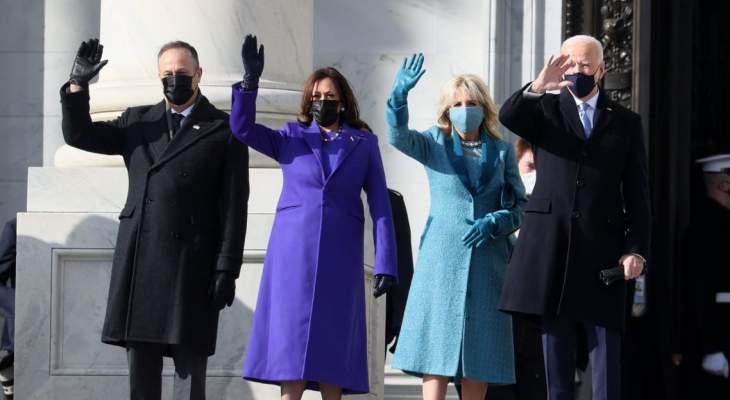 بدء مراسم تنصيب بايدن رئيساً للولايات المتحدة الأميركية