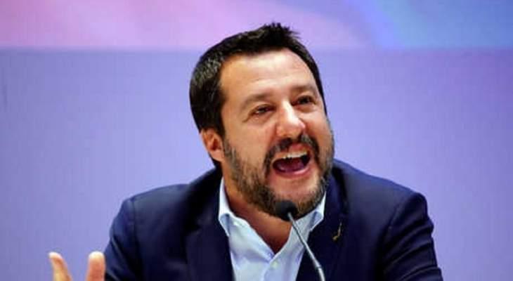 """نائب رئيس وزراء ايطاليا يحتفل بفوز """"أقصى اليمين"""" في البرلمان الاوروبي"""
