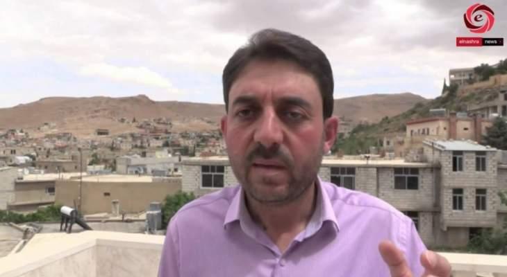 رئيس بلدية عرسال: تبلّغنا من الجيش قرار إقفال الطرق الى الجرد لوقف التهريب