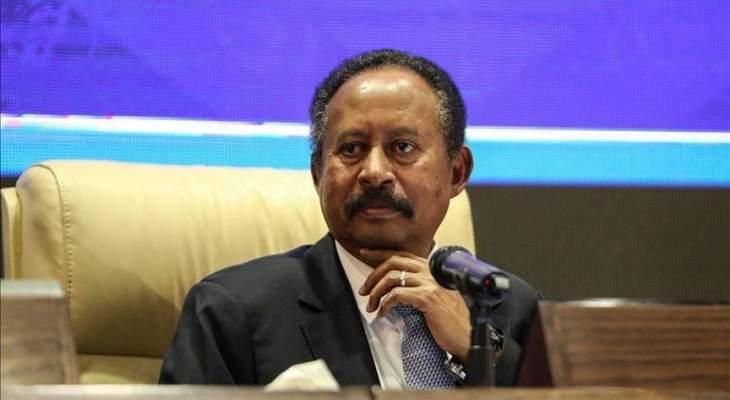 حمدوك: قادرون على حماية المدنيين في دارفور