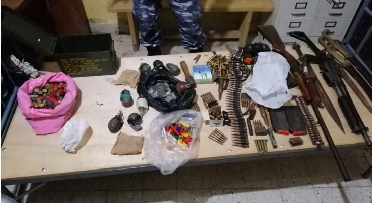 قوى الأمن: فصيلة الضنّيّة توقف أفراد عصابة نفّذت أكثر من 15 عملية سرقة
