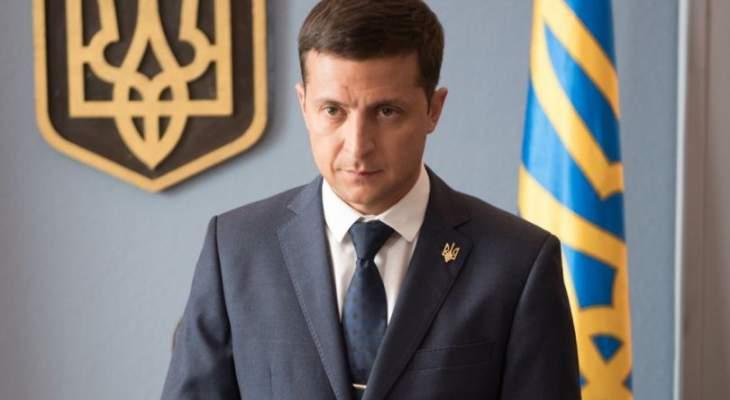 زيلينسكي يحصل على نسبة 73.7 بالمئة مقابل 26.3 لبوروشينكو بإنتخابات الرئاسة الأوكرانية