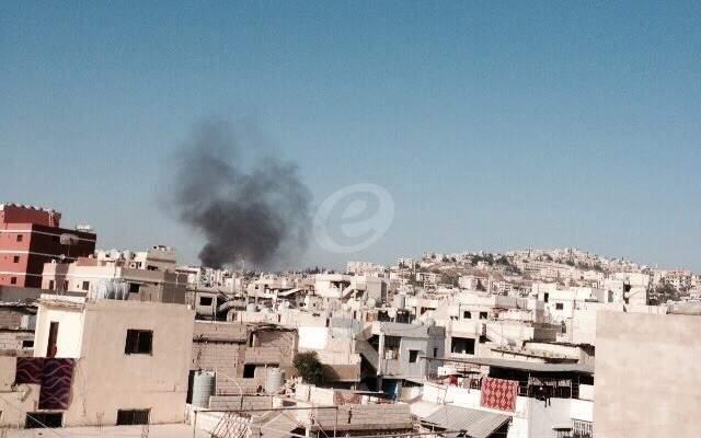 النشرة: سقوط قذيفة في حي طيطبا في مخيم عين الحلوة