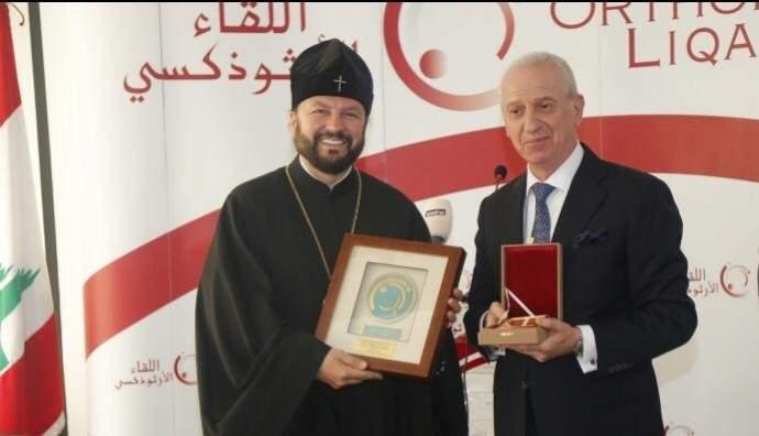 مروان أبو فاضل التقى المتروبوليت غورباتشيف: نتقدم بعميق الشكر من كنيسة موسكو التي هبت لمساعدة بيروت المنكوبة