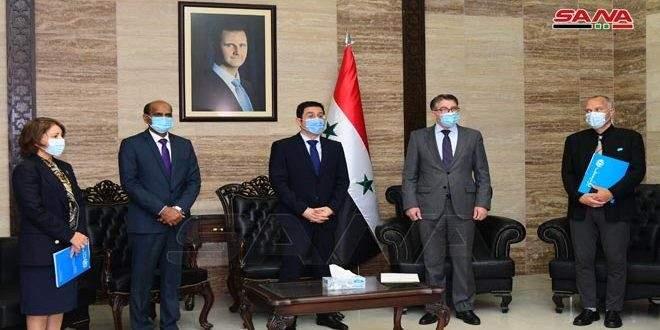 الصحة السورية: تتسلم 203 آلاف جرعة من لقاح كورونا عبر منصة كوفاكس