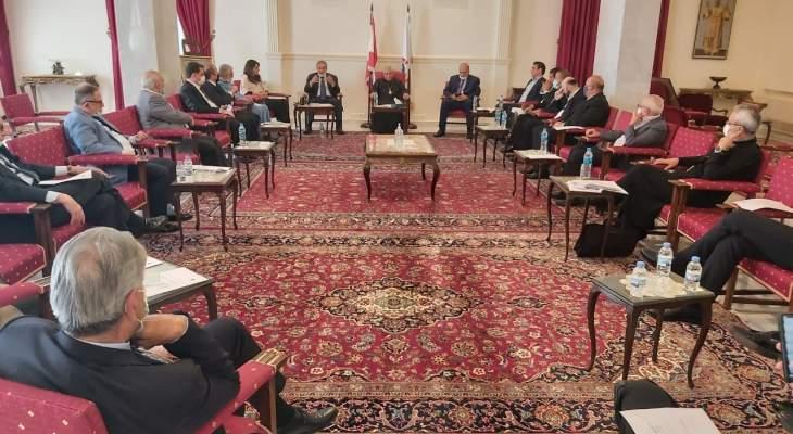 المجلس الأعلى لطائفة الروم الكاثوليك: لضرورة رصّ الصفوف في هذه المرحلة