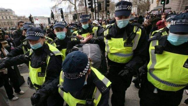 شرطة لندن: إصابة 19 شرطيا خلال نهائي أمم أوروبا 2020