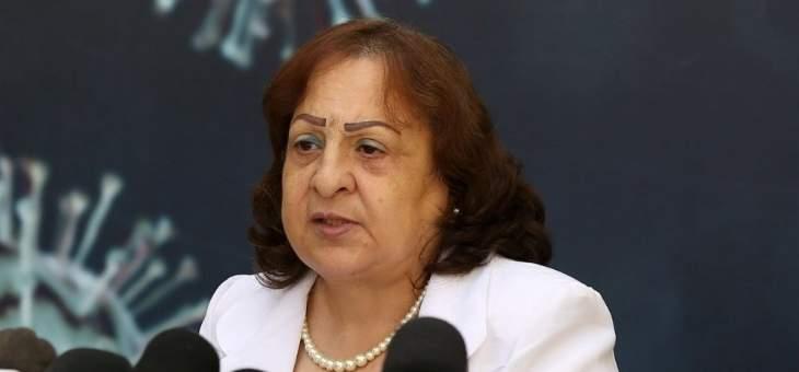 """وزيرة الصحة الفلسطينية: تسجيل 8 وفيات و513 إصابة جديدة بفيروس """"كورونا"""""""