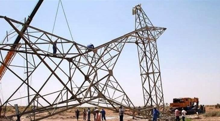 تعرض 14 برجا لنقل الطاقة للتخريب وانقطاع التيار في محافظة صلاح الدين العراقية