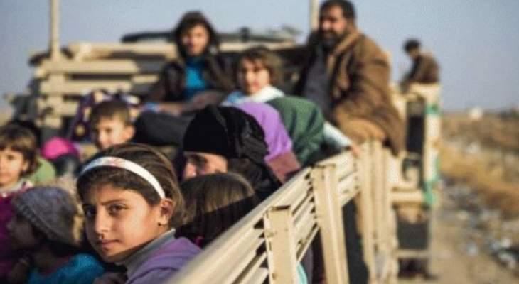 النشرة: نقل عراقيين من مخيم الهول بريف الحسكة إلى مخيم الجدعة جنوب الموصل