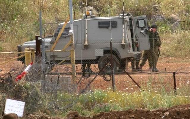 النشرة: قوة اسرائيلية مشطت الطريق العسكري المحاذي للسياج الحدودي