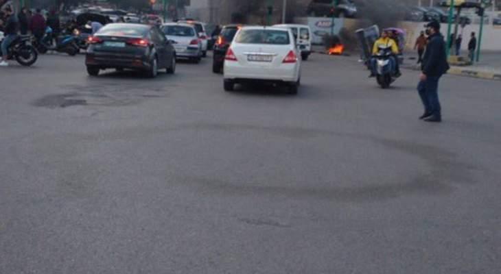 التحكم المروري: قطع السير محلة بشارة الخوري بالاتجاهين