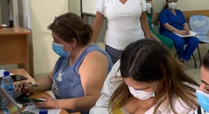 النشرة: رئيسة مصلحة الصحة تفقدت مستشفيات البقاع الغربي والاوسط لمتابعة التلقيح