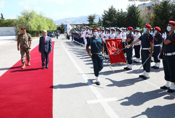 قائد الجيش التقى وزير الدفاع قبيل مراسم التسلّم والتسليم في الوزارة