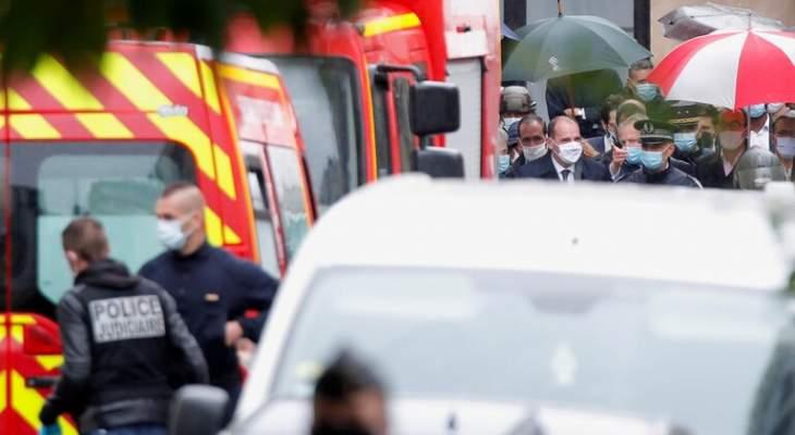 سلطات فرنسا: المصابان بالطعن صحفيان وشرطة مكافحة الإرهاب تحقق بالحادثة