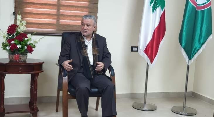 محمد نصرالله دعا اللبنانيين لأن يكونوا جديين بممارسة الوقاية من كورونا