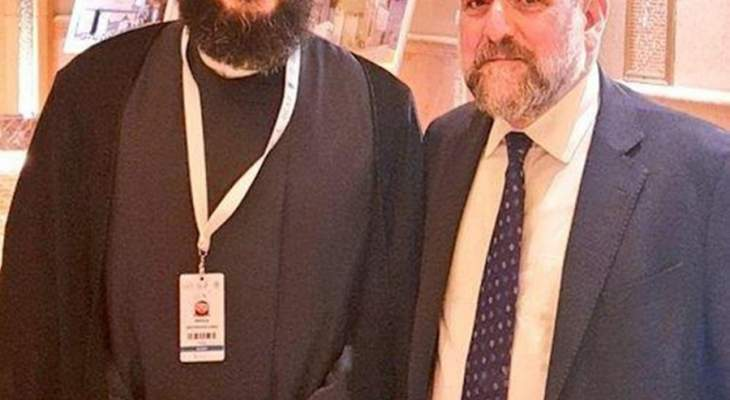 السيد الحسيني يلتقي الحاخام شودريش: لتفعيل الحوار بين الأديان