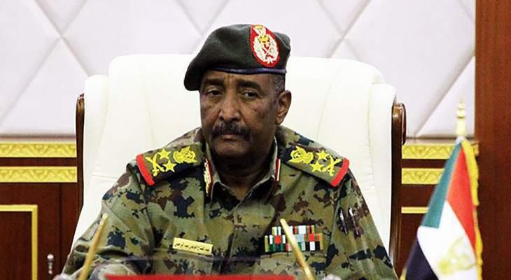 البرهان: المجلس العسكري الانتقالي لم يكن ينوي فض الاعتصام