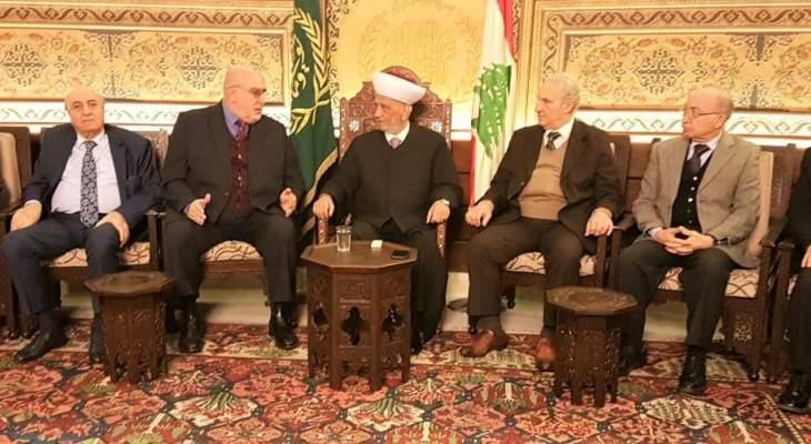 حمدان زار دريان: دار الفتوى ستبقى المرجعية الوطنية للجميع