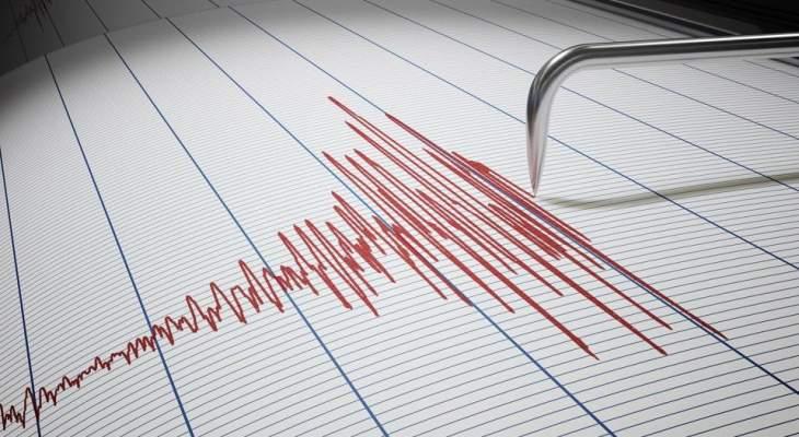 زلزال بقوة 5.2 درجة ضرب ولاية ميزورام شمال شرقي الهند