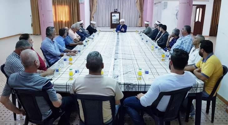 """""""الإصلاح والوحدة"""" ناشدت عون إنصاف عكار: قرار وزير العمل مرفوض ويخدم صفقة القرن"""