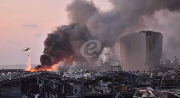 القاضي صوان استمع إلى شاهدين من وزارة الداخلية بقضية انفجار مرفأ بيروت