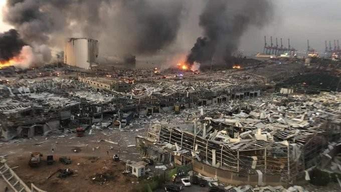 الجديد: اندلاع حريق بمكان الانفجار لكنّه تحت السيطرة