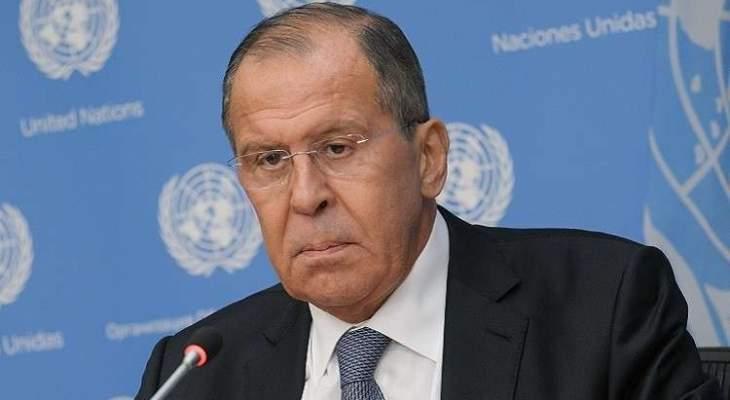 لافروف: روسيا تقيم إيجابيا أفكار ماكرون حول تطبيع العلاقات بين موسكو وباريس