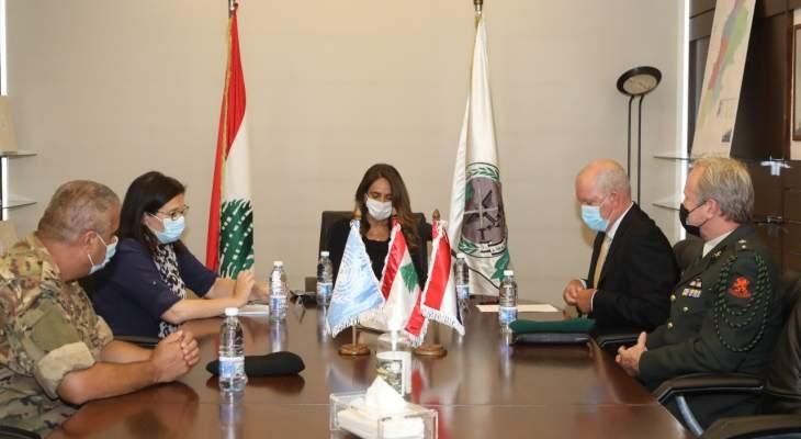 وزارة الدفاع وقعت على اتفاقيتين حول مكافحة الالغام مع UNDP والسفارة الهولندية