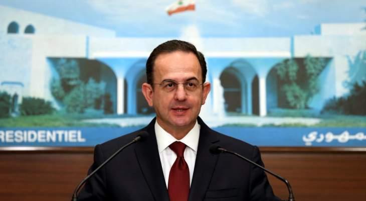 كيدانيان استقبل سفير أرمينيا وبحث معه التحضيرات لزيارة ارمينيا