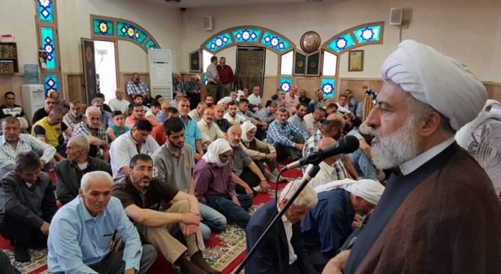 الخطيب: الإمام الصدر وقف في وجه الحرب الأهلية واعتبر السلم الأهلي أفضل وجوه المقاومة