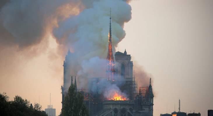 """تقرير لـ """"سي بي أس"""" قبل أشهر حذر من كارثة مرتقبة لكاتدرائية نوتردام"""