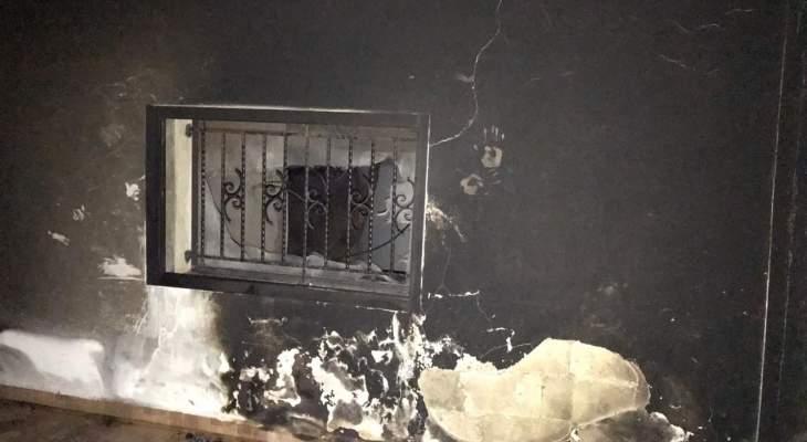 النشرة: الدفاع المدني أخمد حريقاً شب في منزل بالمريجات حيث اقتصرت الاضرار على الماديات