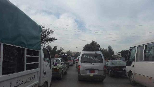 زحمة سير علىالمسلك الشرقي لاوتوستراد جبيل بسبب الاشغال