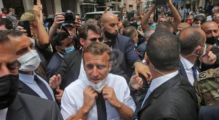 كلام ماكرون كما سمعه اللبنانيون: انه الموالاة... لا انه المعارضة