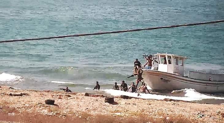إحباط محاولة تهريب سوريين قبالة شاطئ العريضة الحدودي
