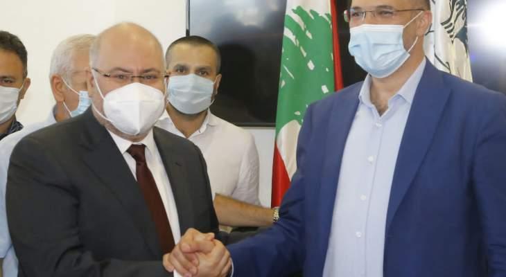 الأبيض تسلم وزارة الصحة من حسن: همنا الأول سيكون أن يحصل المواطن على خدمات الرعاية الصحية المطلوبة