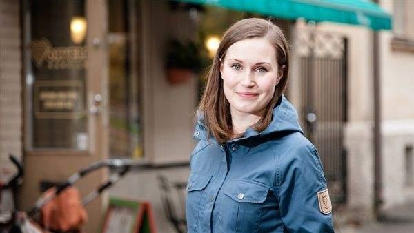 الحزب الحاكم في فنلندا ينتخب أصغر رئيسة للوزراء