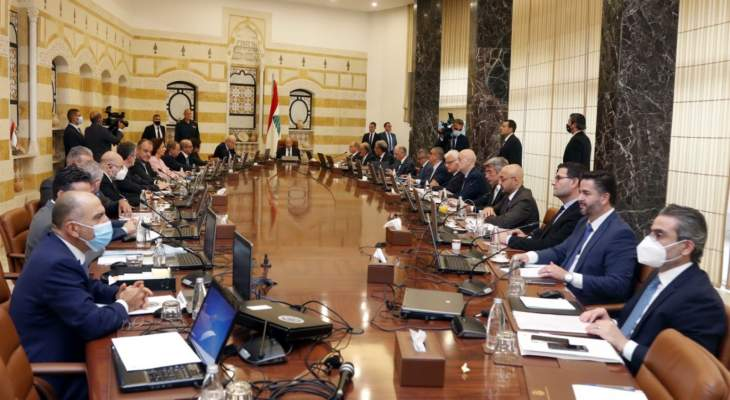 مصادر الثنائي الشيعي للجمهورية: لا عودة الى مجلس الوزراء قبل ان يتحمل مسؤوليته في مراعاة مصلحة البلد