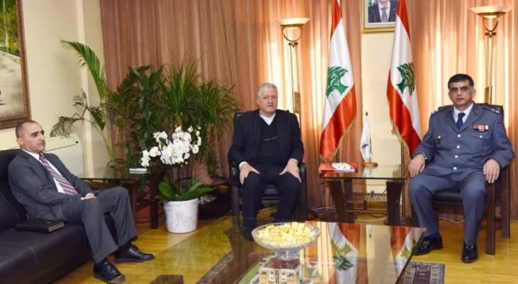 رئيس مؤسسة لابورا زار اللواء عثمان مهنئا بتوليه منصبه الجديد