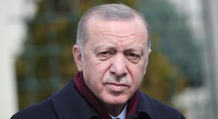 اردوغان: قدمنا 20 مليون جرعة لقاح لمواطنينا حتى الآن وحققنا نموا اقتصاديا في 2020