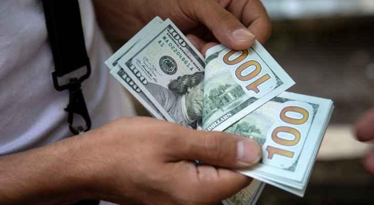 نقابة الصيارفة: سعر صرف الدولار 3850 للشراء و3900 للبيع