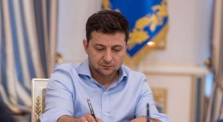زيلينسكي: الجيش هو الضامن لنجاح جميع المفاوضات الدبلوماسية