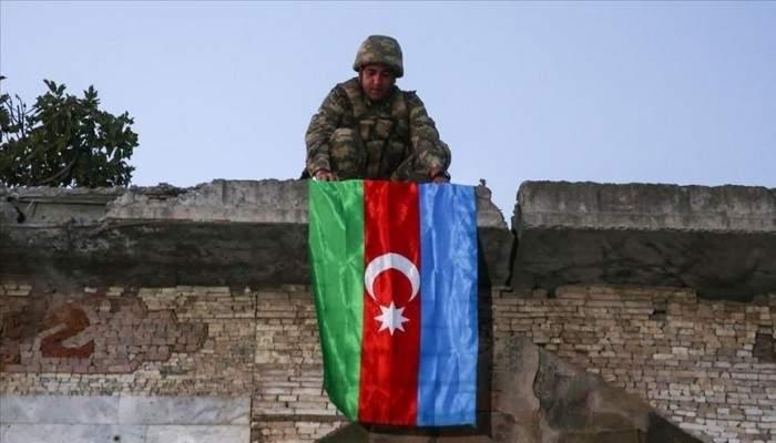 علييف: رفع علم أذربيجان على جسر خودافرين التاريخي بمحافظة جبرائيل
