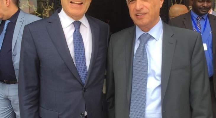 هاشم: لتعزيز العلاقات بين المغرب ولبنان وتطويرها وتسهيل حركة التواصل