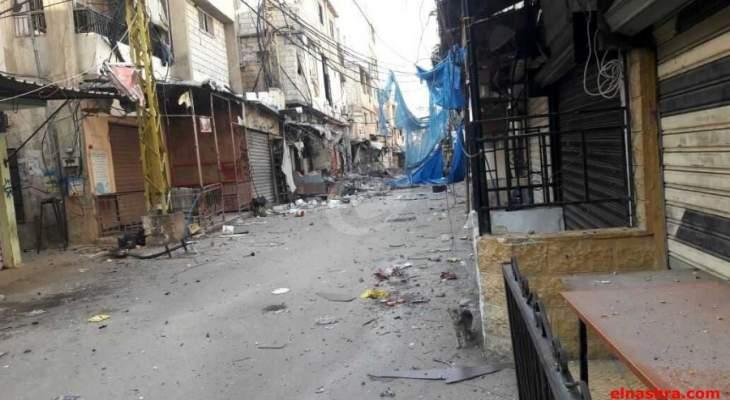 النشرة: هدوء هش في عين الحلوة وحركة فتح تتقدم في حي الطيرة جنوبا