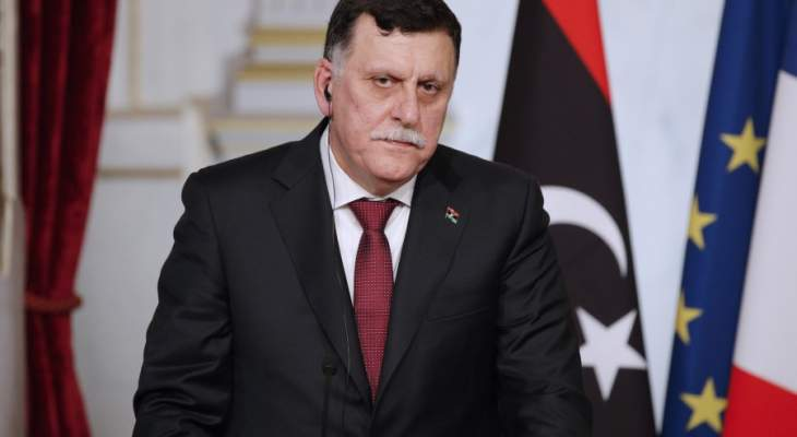 """السراج: الحرب في طرابلس ستنتهي بهزيمة """"الجيش الوطني"""" بقيادة حفتر"""