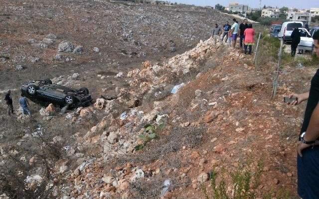 وفاة شيخ على طريق نحلة بعلبك بعد انحراف سيارته نحو واد