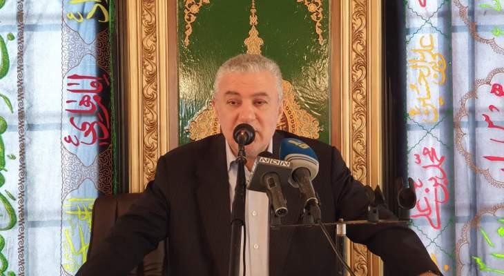 محمد نصرالله: نحن أمام تركيبة أزمات الأوسع فيها والأخطر هي الأزمة السياسية